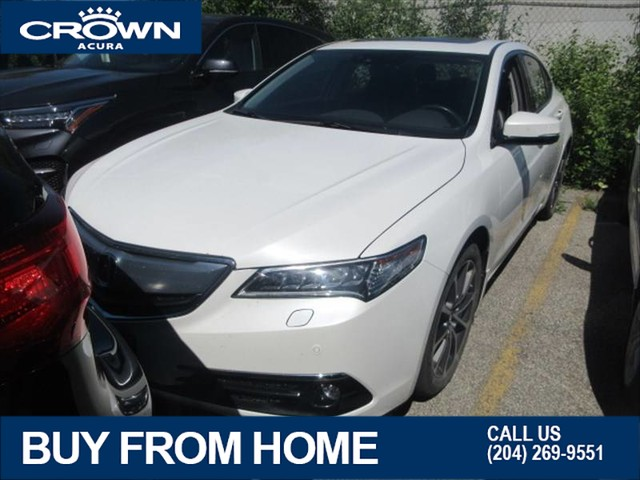 Certified Pre-Owned 2016 Acura TLX Elite SH-AWD **Fully Loaded** Navigation** Heated & Cooled Seats** Includes Certified Warranty**