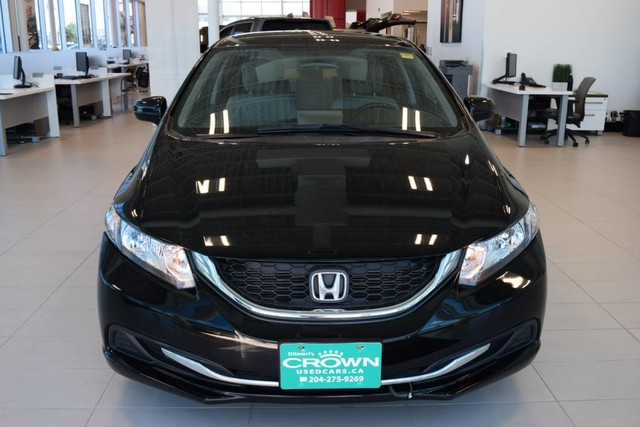 Certified Pre-Owned 2015 Honda Civic Sedan LX / Certified / Bluetooth / Heated seats / Rear view camera
