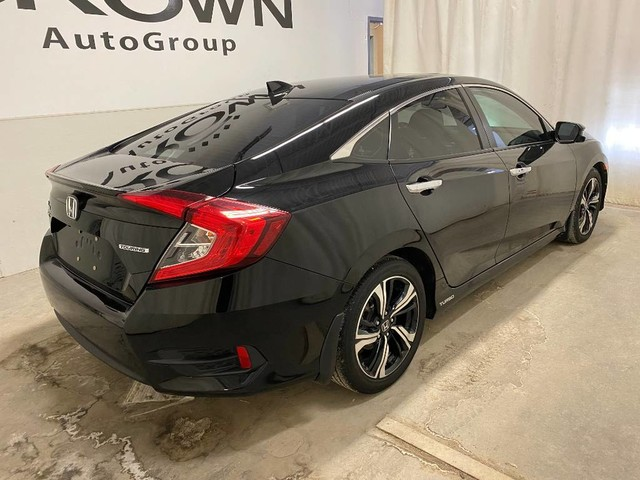 Certified Pre-Owned 2017 Honda Civic Sedan 4dr CVT Touring/ ONE OWNER/ LOW KMS/ HEATED SEATS/ BACKUP CAMERA/ BLUETOOTH/ SUNROOF