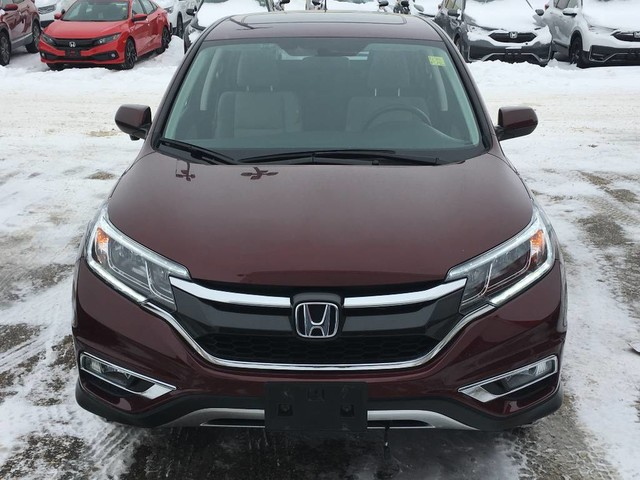 Pre-Owned 2016 Honda CR-V EX/AWD/Sunroof/Heated seats/Rear view camera/One touch folding rear seats