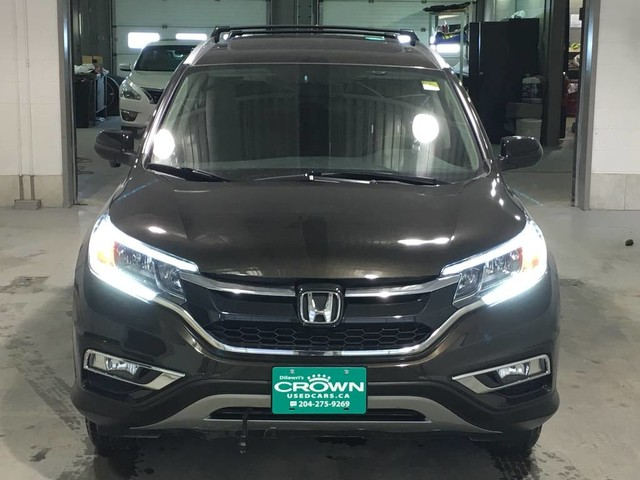 Pre-Owned 2015 Honda CR-V EX-L / Crown Original / Sunroof / Heated seats / Rear view came