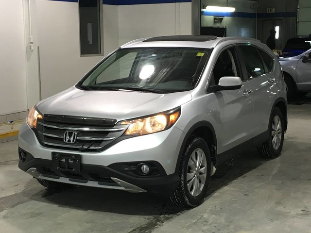 Pre-Owned 2014 Honda CR-V Touring / Navigation / Leather / Bluetooth / Heated seats