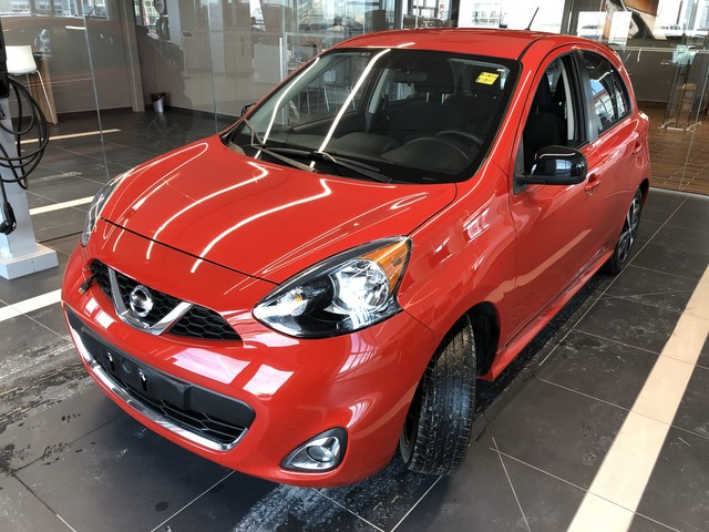 Certified Pre-Owned 2015 Nissan Micra SR *Bluetooth/Backup Camera/Remote Start/Crown Original*