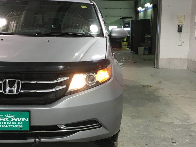 Pre-Owned 2016 Honda Odyssey EX/Heated seats/Bluetooth/Power side doors/8 passenger