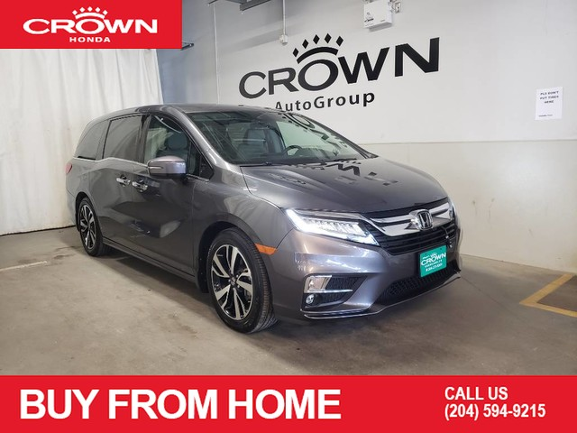 Pre-Owned 2019 Honda Odyssey Touring/ LOW KMS/ 8 seater/ rear entertainment sys/ HEATED SEATS&STEERING WHEEL/APPLE CAR PLAY&ANDROID AUTO
