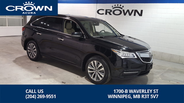 Certified Pre-Owned 2016 Acura MDX Nav SH-AWD **Includes No Charge 7 Year Warranty** 7 Passenger**