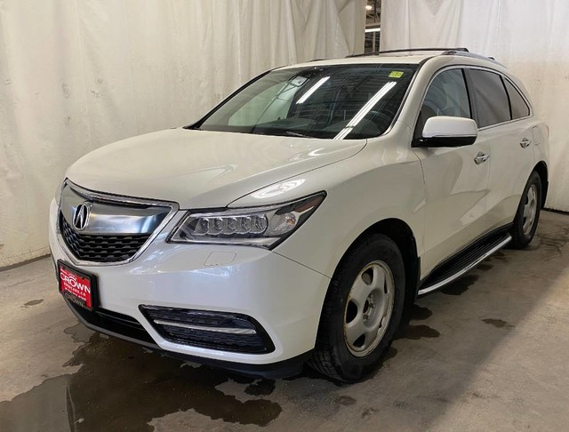 Pre-Owned 2016 Acura MDX SH-AWD 4dr Tech Pkg/ ONE OWNER/ NO ACCIDENT/ LOW KMS/ HEATED FRONT AND REAR SEATS/ DVD/ BACKUP CAMERA