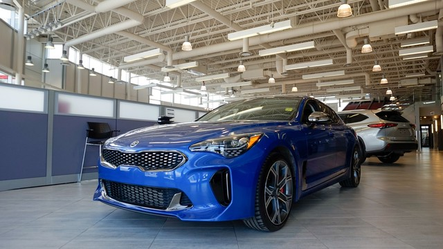 Pre-Owned 2018 Kia Stinger | Local Trade | One Owner | GT AWD