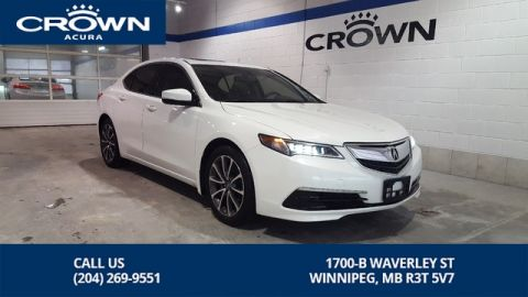 Certified Pre-Owned 2015 Acura TLX Premium SH-AWD **Lease Options Available** Includes 7 Year Certified Warranty**