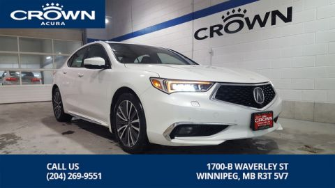 Certified Pre-Owned 2018 Acura TLX Elite SH-AWD **Crown Original **Includes No Charge Extended Warr