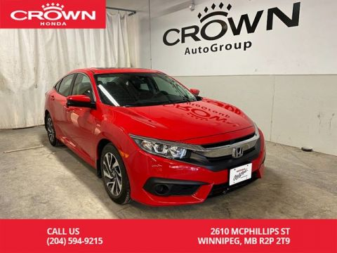 Pre-Owned 2017 Honda Civic Sedan 4dr CVT EX/ ACCIDENT FREE HISTORY/ LOW KMS/ BLUETOOTH/ HEATED FRONT SEATS/ SUNROOF/ BACKUP CAMERA
