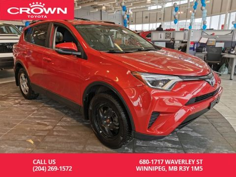 Certified Pre-Owned 2016 Toyota RAV4 LE AWD Upgrade Pkg / Crown Original / Local / WINTER AND SUMMER TIRES INCLUDED / Great Value