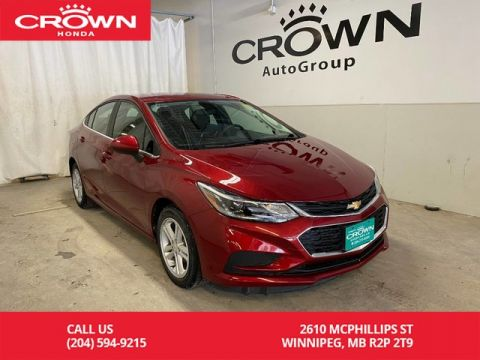 Pre-Owned 2017 Chevrolet Cruze 4dr Sdn 1.4L LT w/1SD/ ONE OWNER/ NO ACCIDENT/ LOW KMS/ BACKUP CAMERA/ HEATED FRONT SEATS/ BLUETOOTH