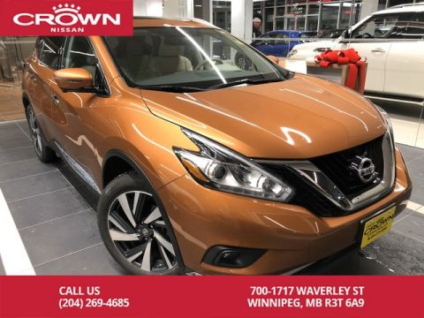 Pre-Owned 2017 Nissan Murano Platinum AWD *Leather/360 Backup Camera/Remote Start*