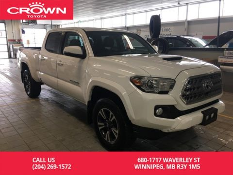 Certified Pre-Owned 2017 Toyota Tacoma TRD Sport Double Cab / Upgrade Pkg / Low Kms / Sunroof